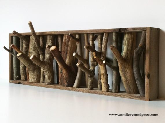 wood coat tree plans