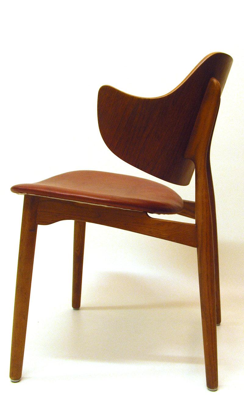 Shell chair by Ib Kofod-Larsen