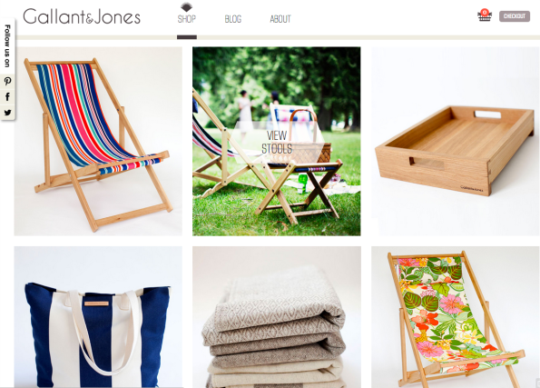 Gallant and Jones new website