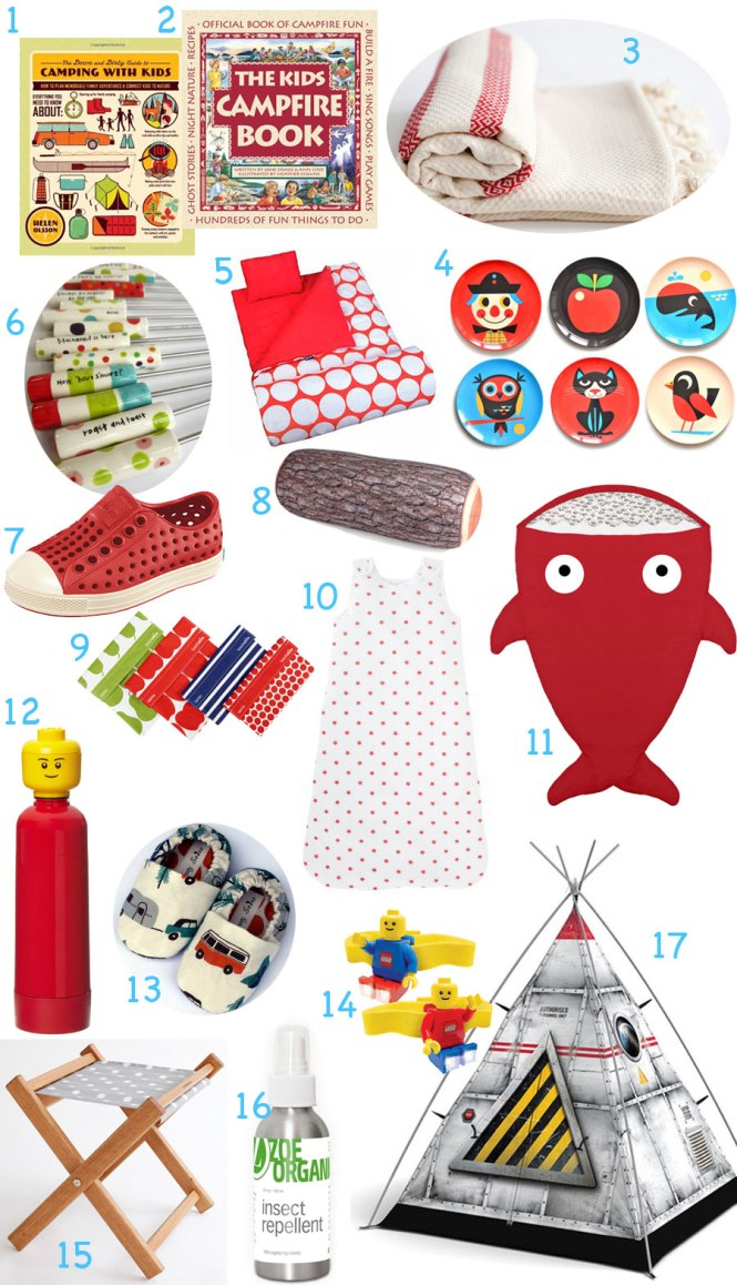 fun and practical camping gear for kids