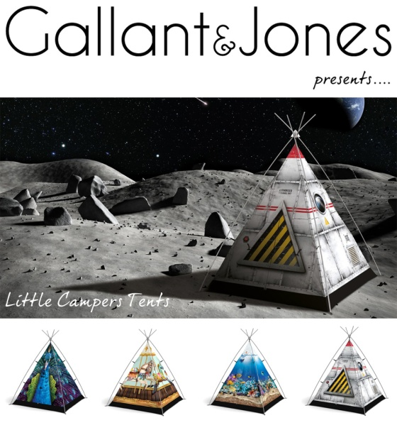 tent promotion by Gallant & Jones